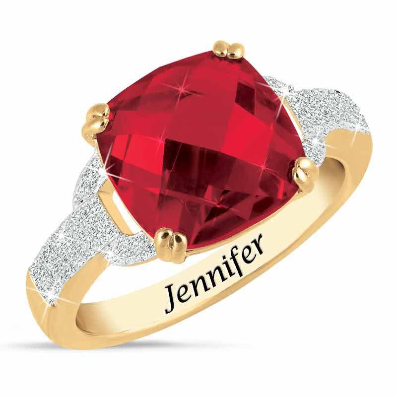 Birthstone  Diamond Ring 1159 001 5 7