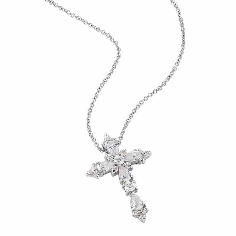 Dazzling Devotion Diamonisse Cross Pendant 4980 005 5 2