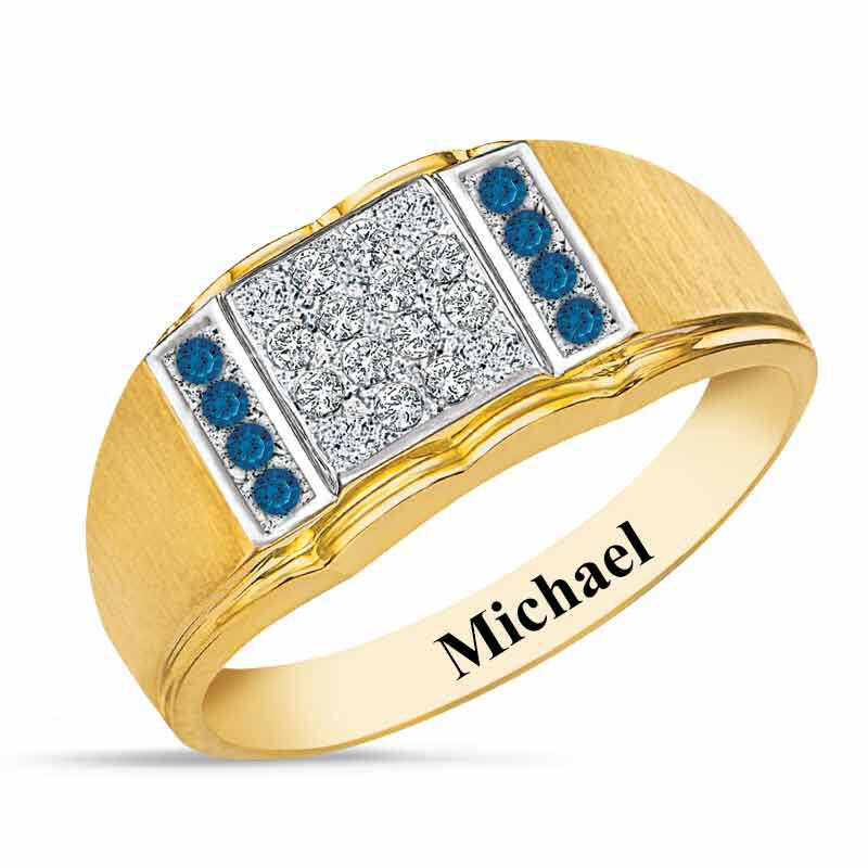 Birthstone Diamond Ring 5211 001 2 9
