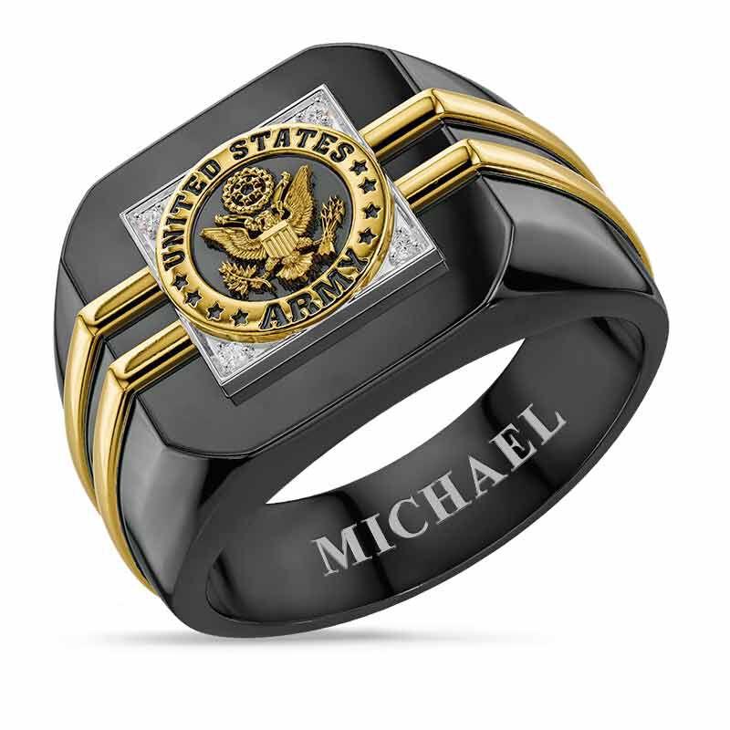 Distinction US Army Ring 6670 001 4 1