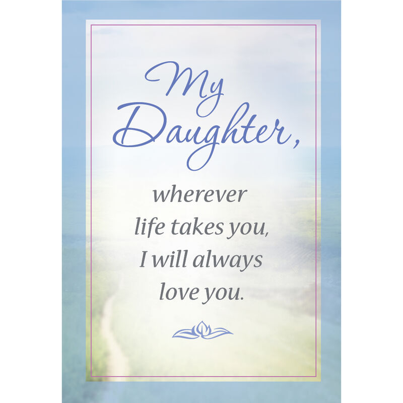 Cherish the Journey Daughter Gemstone Pendant with card 6768 001 7 2