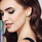 Personalized Double Hoop Earrings 6551 001 8 3