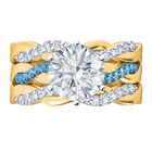 I Still Do Birthstone Ring Set 6740 0010 d front