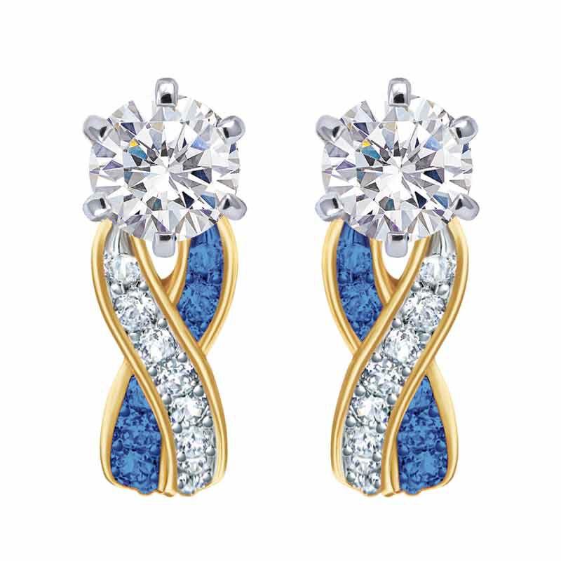 Birthstone Swirl Earrings 2647 001 3 9