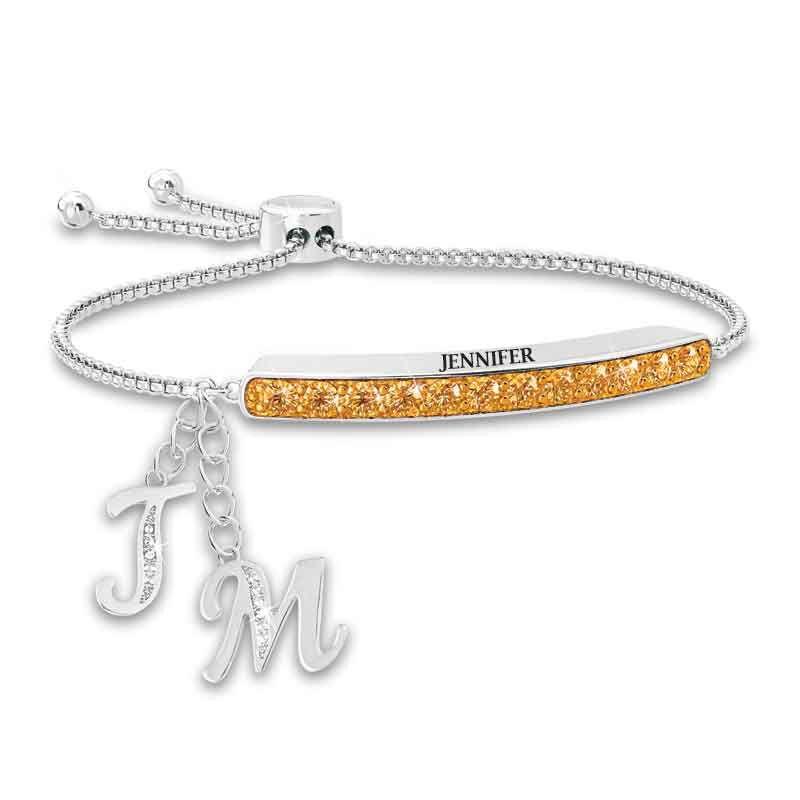 Personalized Birthstone Bolo Bracelet 1864 002 9 11