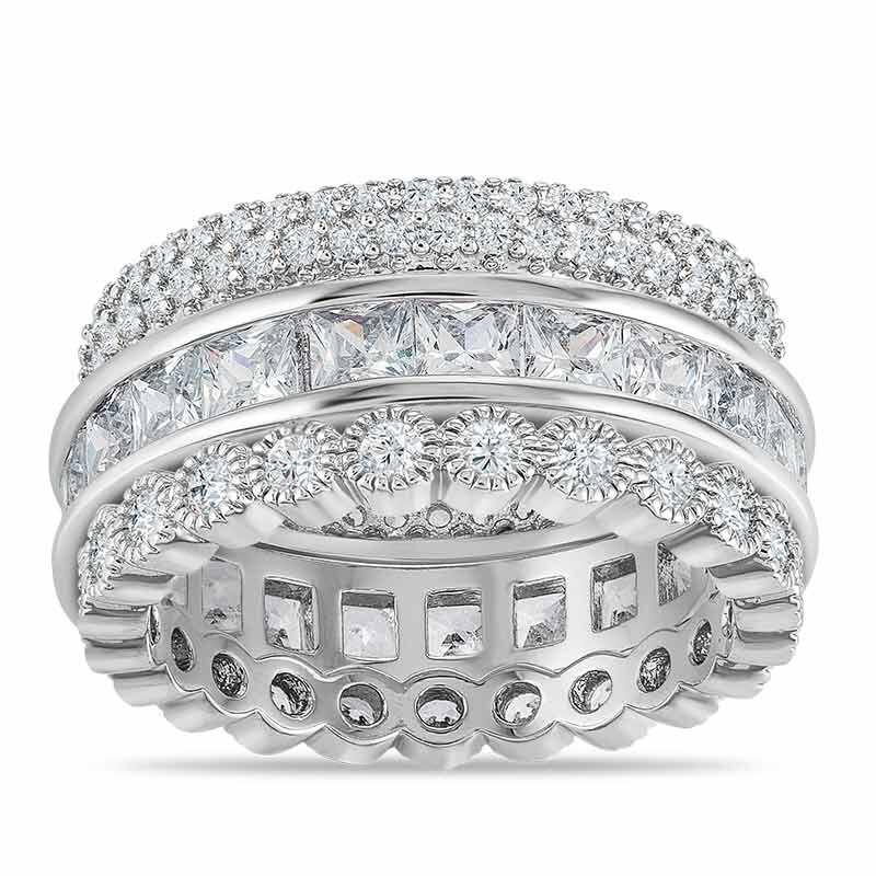 Eternally Beautiful Stackable Ring Set 6190 001 5 1