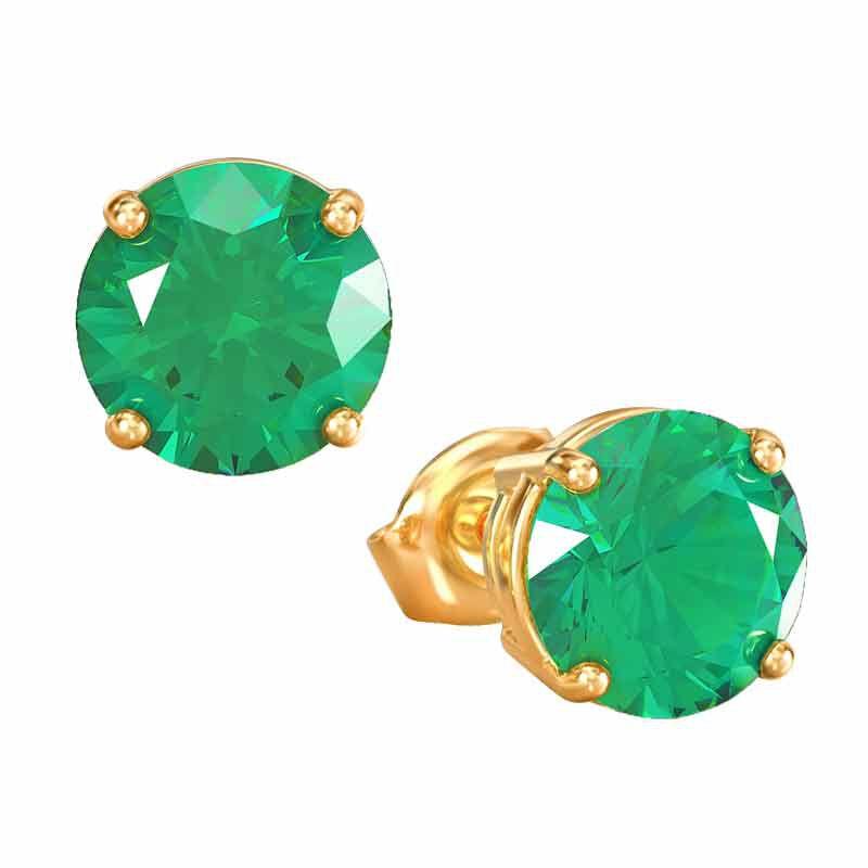 Birthstone Stud Earrings 3359 013 4 5