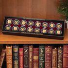The Ruthenium  24KT Gold Enhanced Morgan Silver Dollars 1798 001 2 4