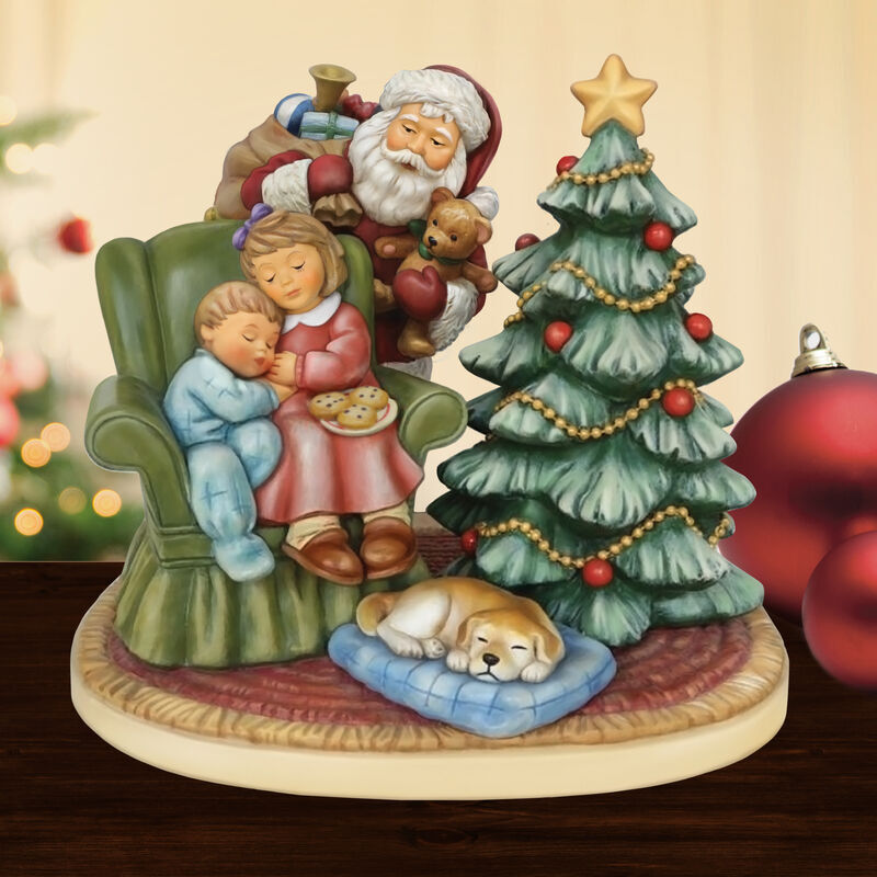 MI Hummel Figurine   Waiting for Santa 6436 001 9 4