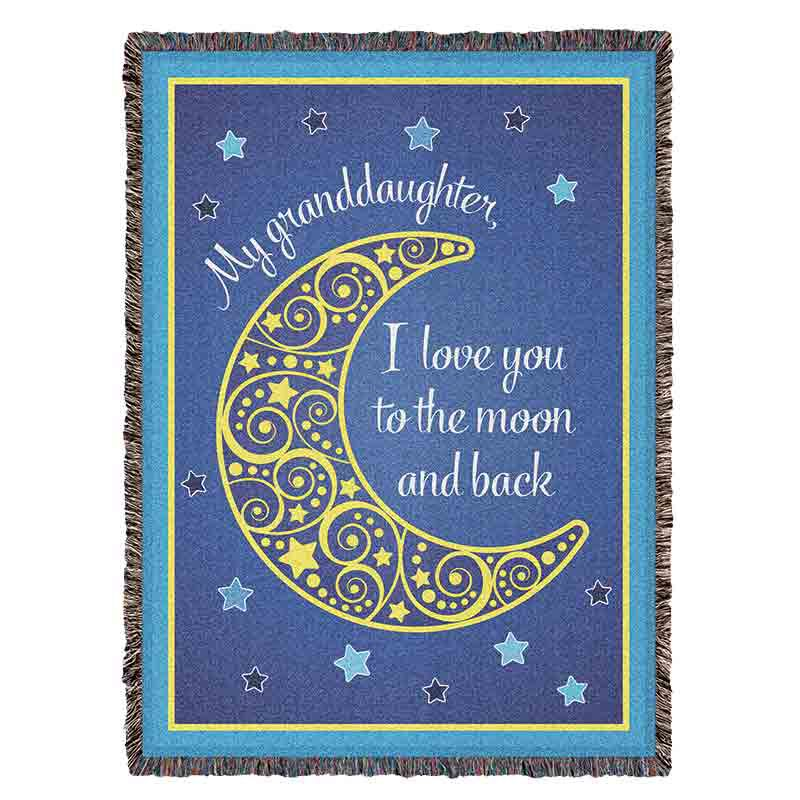 Granddaughter Moon Throw 2570 001 4 1