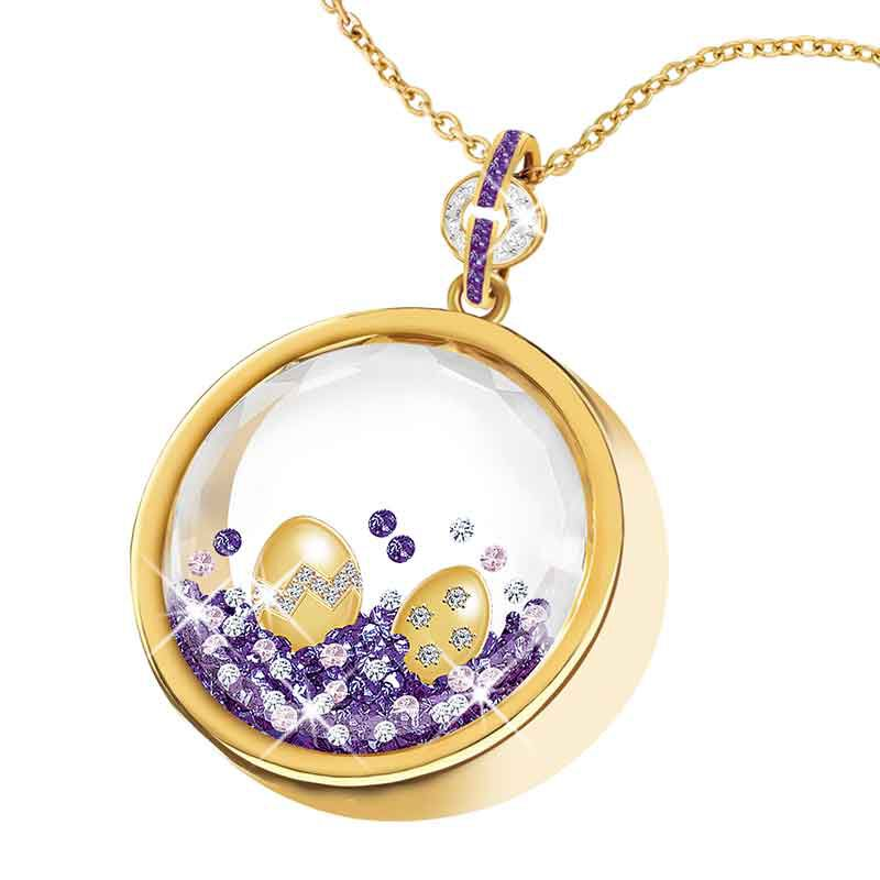 Year of Cheer Floating Crystal Pendants 1553 001 7 14
