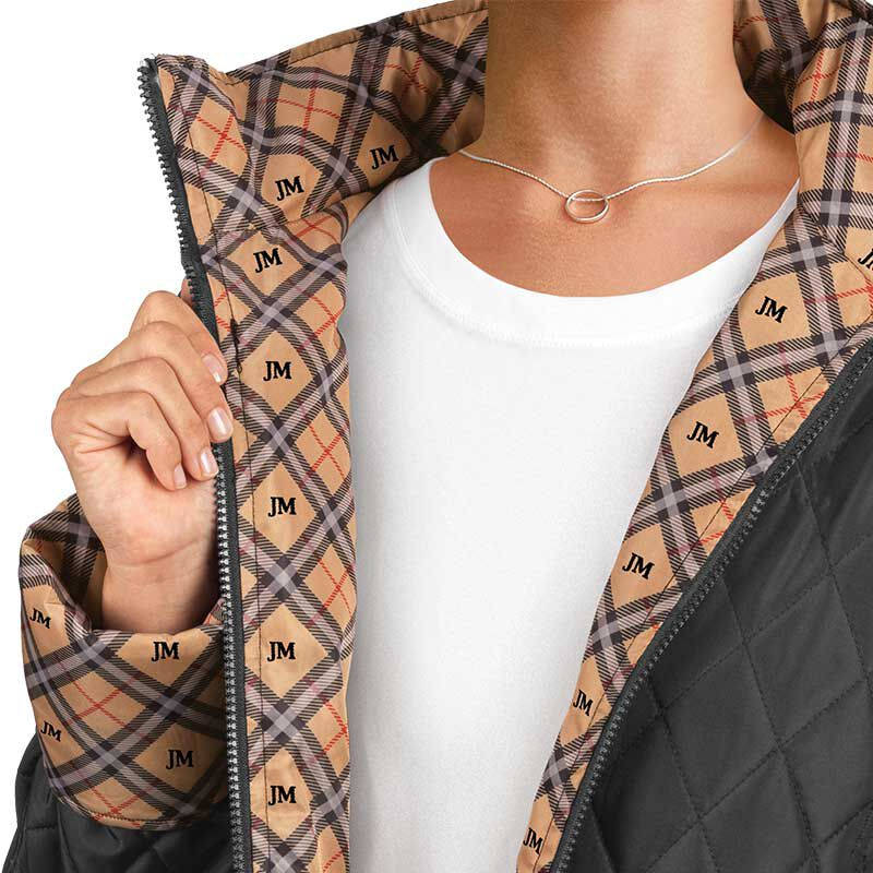The Personalized Quilted Plaid Jacket 6089 002 7 2