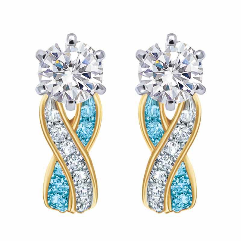 Birthstone Swirl Earrings 2647 001 3 12