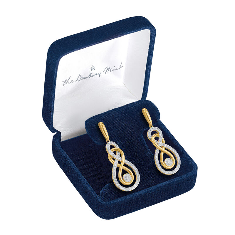 Infinite Elegance Diamond Earrings 6600 0019 g gift display