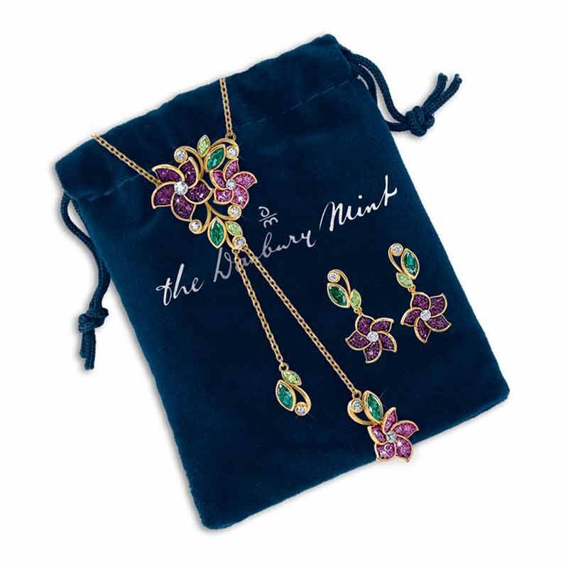 Violets in Bloom Crystal Necklace 2920 001 1 4