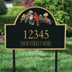 The Songbirds Personalized Address Plaque 1085 001 4 2