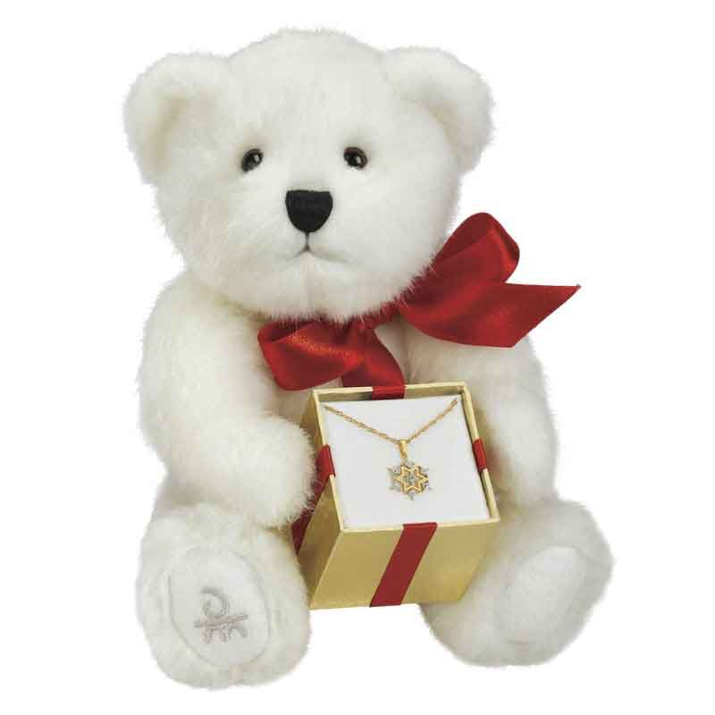 Holly the Diamond Bearing Christmas Bear 2117 001 4 1