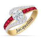 Personalized Birthstone Splendor Ring 10385 0012 a main