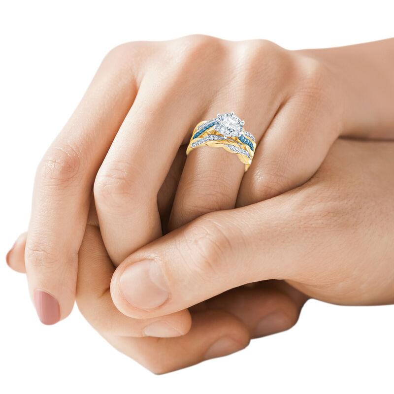 I Still Do Birthstone Ring Set 6740 0010 m model