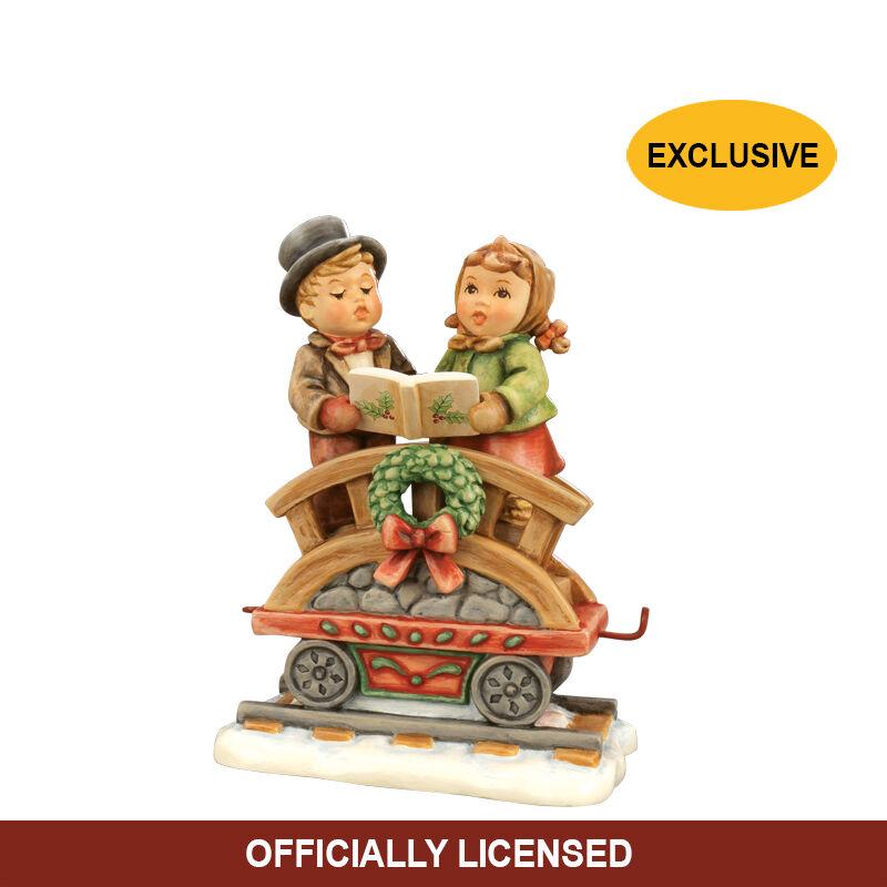 Hummel Christmas Train 5893 0025 c book reading