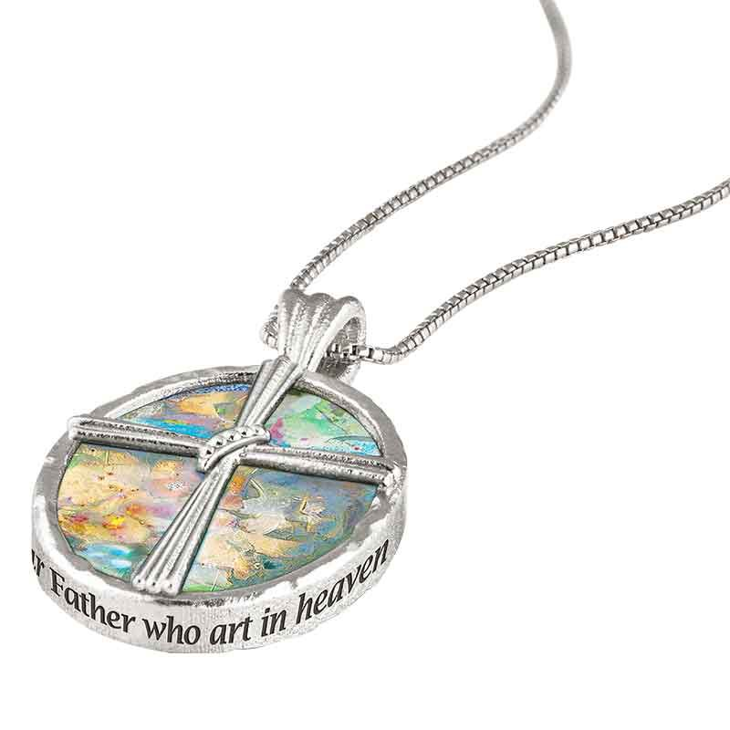 The Pieces of Jerusalem Roman Glass Pendant 2628 001 6 2