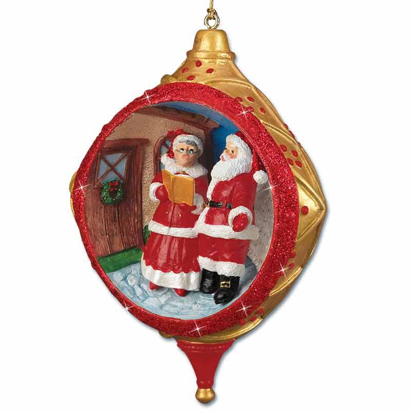Santa at the North Pole Ornament Collection 5599 001 4 2