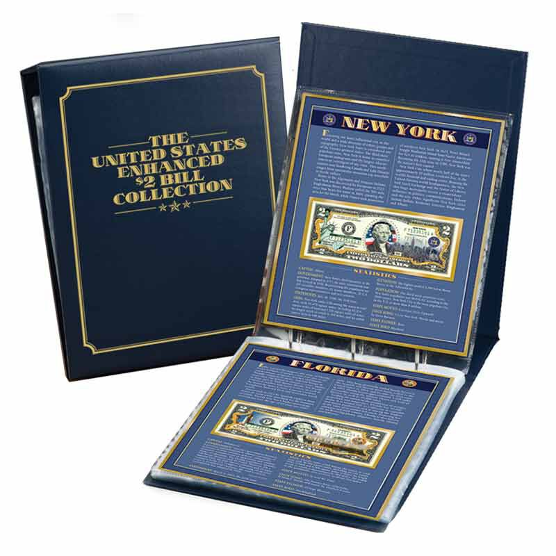 The United States Enhanced 2 Bill Collection 6448 001 5 3
