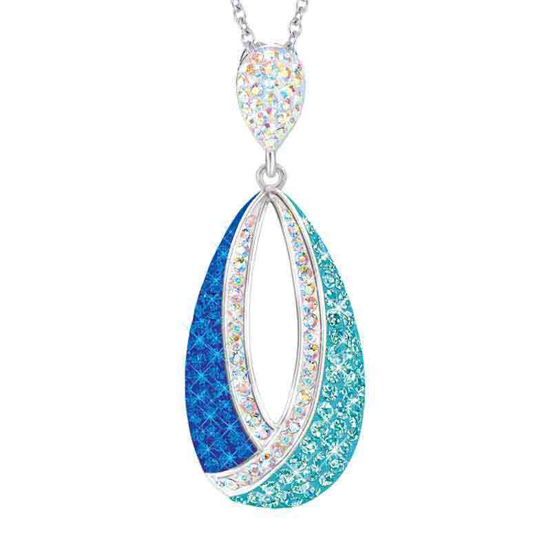 glass ring and pendant Woman adornment multicolored implosion