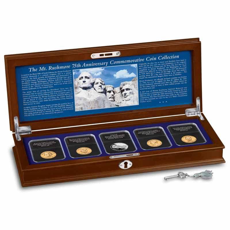 Mount Rushmore 75th Anniversary Commemorative Coin Collection 5127 001 5 1