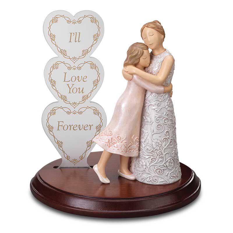 For My Daughter Everlasting Embrace Heirloom Figurine 6157 001 6 1