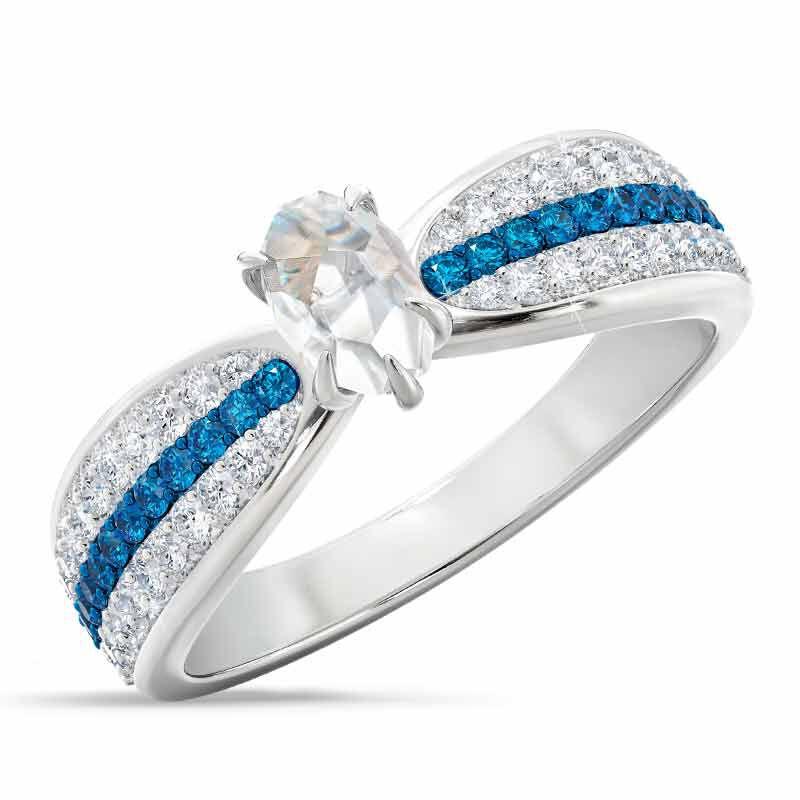 Herkimer Diamond Ring 4905 001 6 1