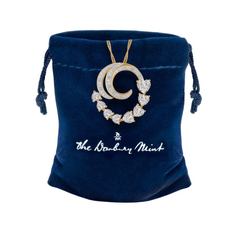 Beloved Diamond Swirl Pendant 6926 0016 g gift pouch