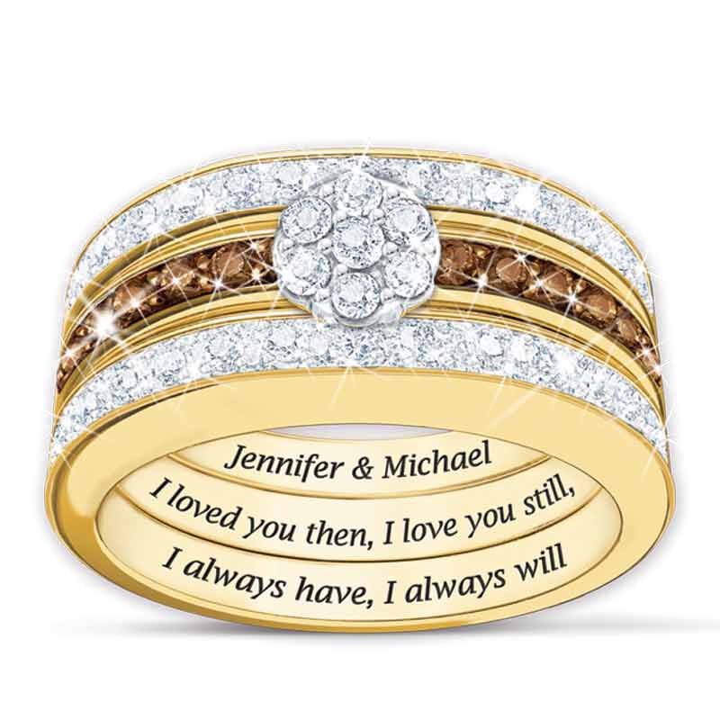 I Love You Always Personalized Diamond Ring Set 4792 006 1 1