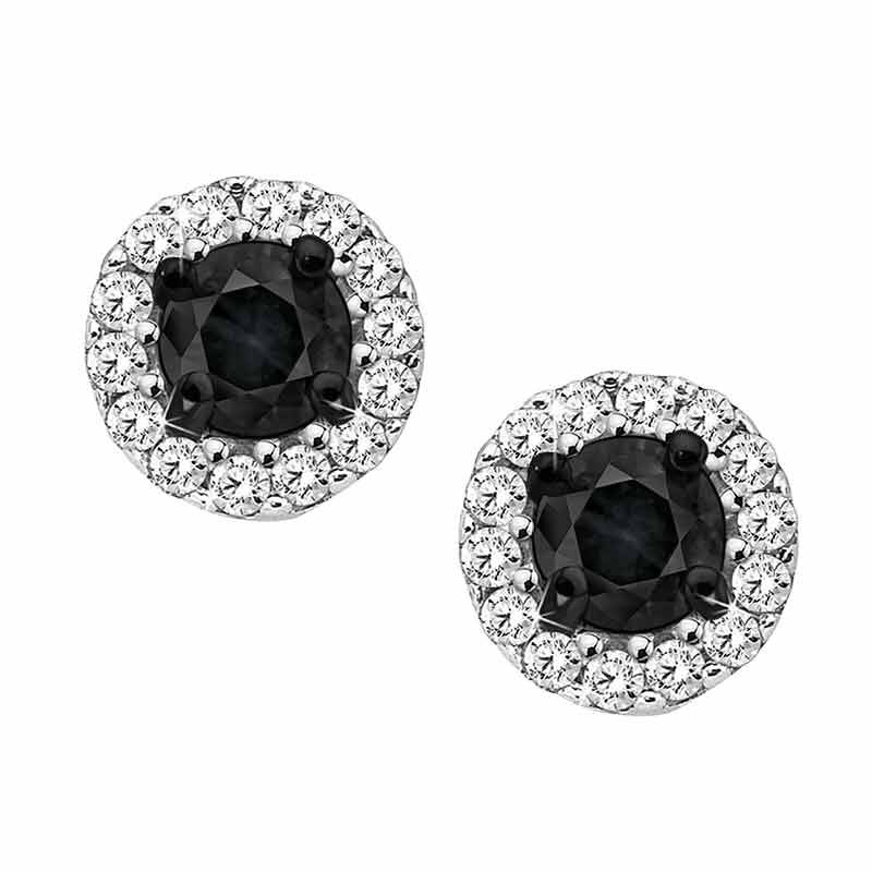 Midnight Spell Black Diamond Earrings 5469 008 6 1