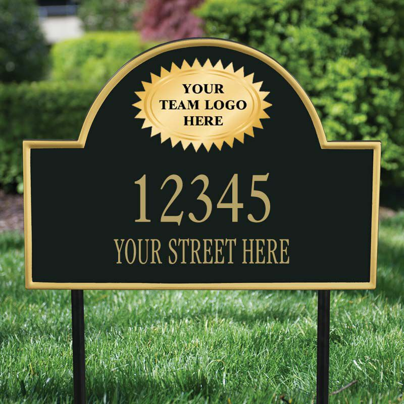 The NFL Personalized Address Plaque 5463 0355 z z outside plaque