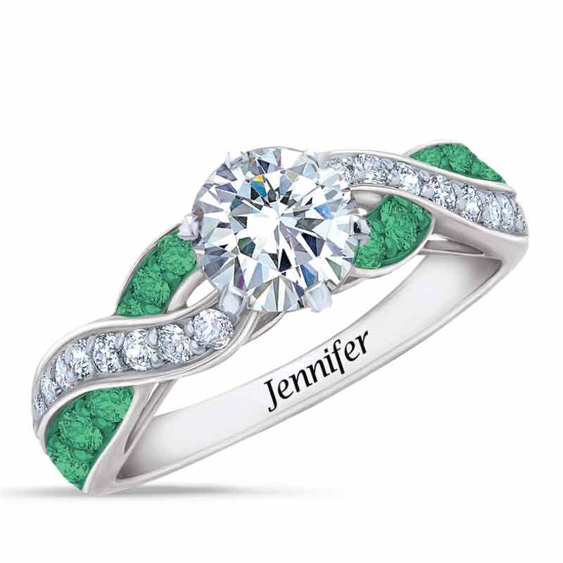 Birthstone Swirl Ring 6366 001 3 5