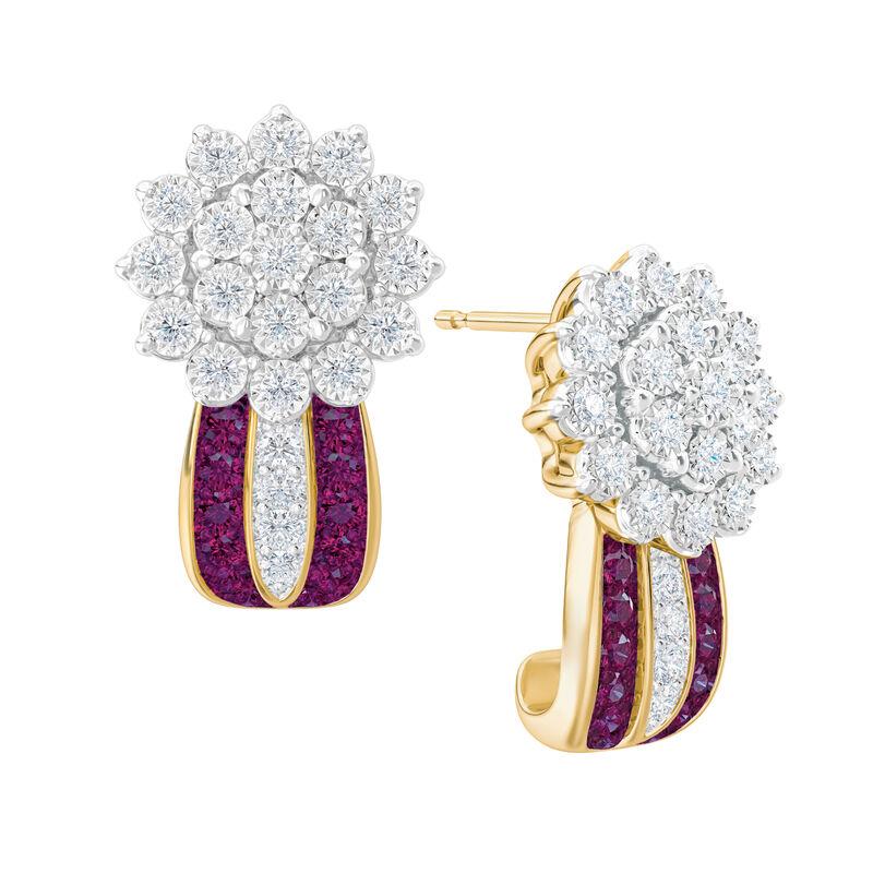 Birthstone Radiance Earrings 5687 0074 b february