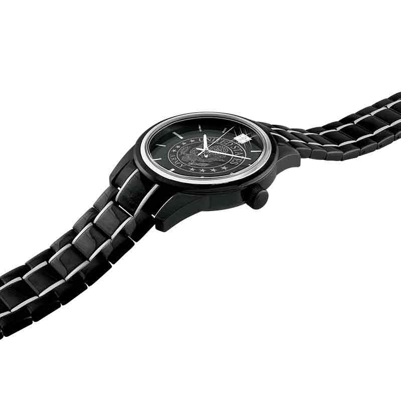 Black Steel US Army Watch 1647 001 5 3
