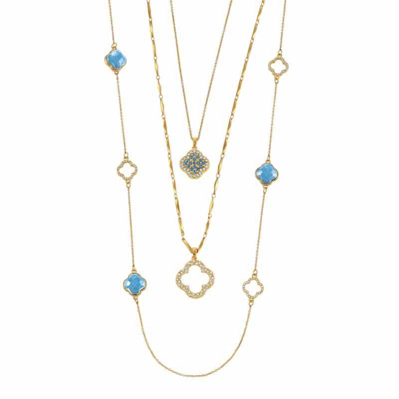 Birthstone Beauty Layered Necklace Set 6594 001 7 12