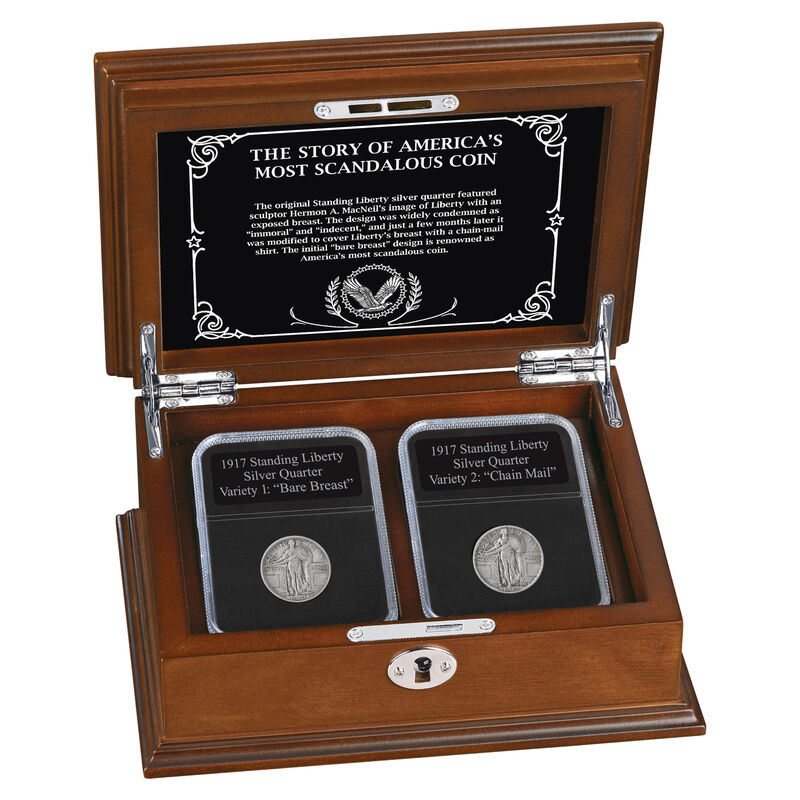 The 1917 Standing Liberty Silver Quarter Set 6811 0014 a main
