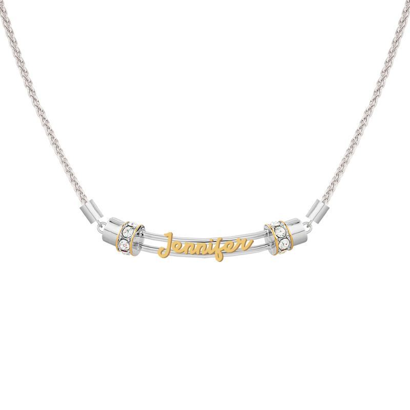 The Personalized Cutout Rope Necklace 4947 0065 a main