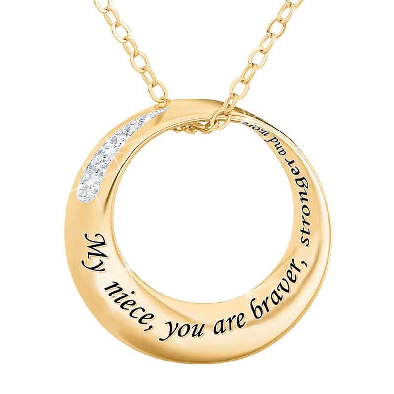 Niece Infinity Circle Diamond Pendant 6262 001 8 1