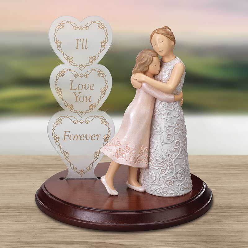 For My Daughter Everlasting Embrace Heirloom Figurine 6157 001 6 4