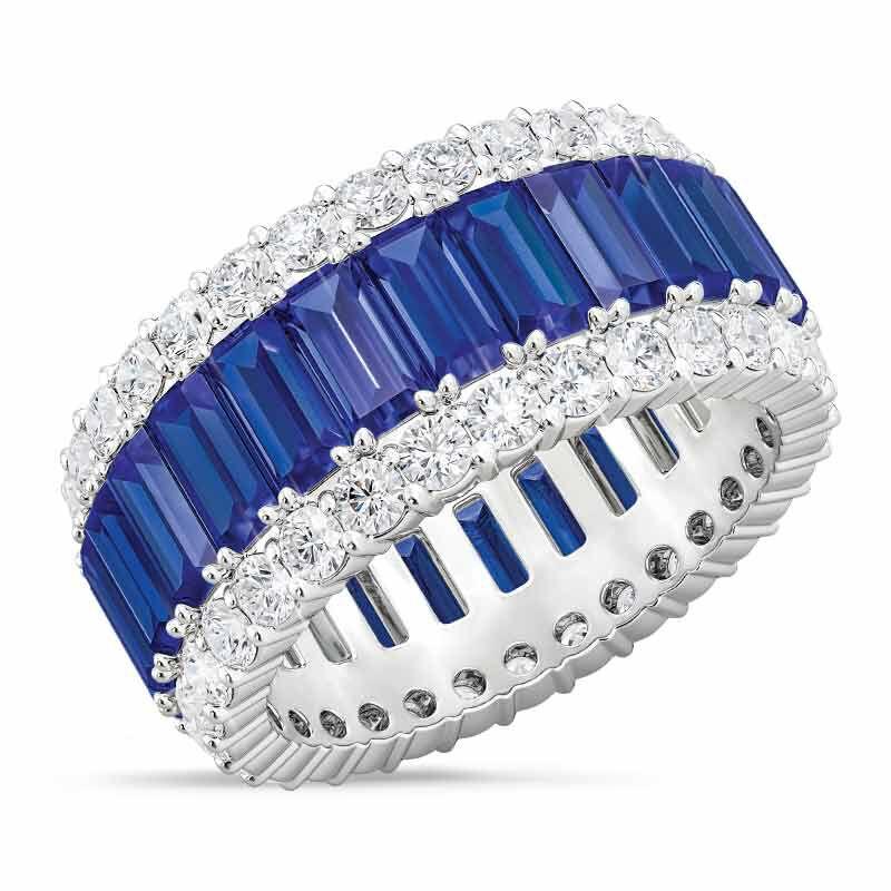 Birthstone Beauty Eternity Ring 2811 001 3 9