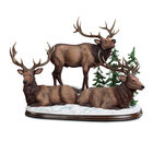 Elk Bull Trio Figurine 2400 0010 a main