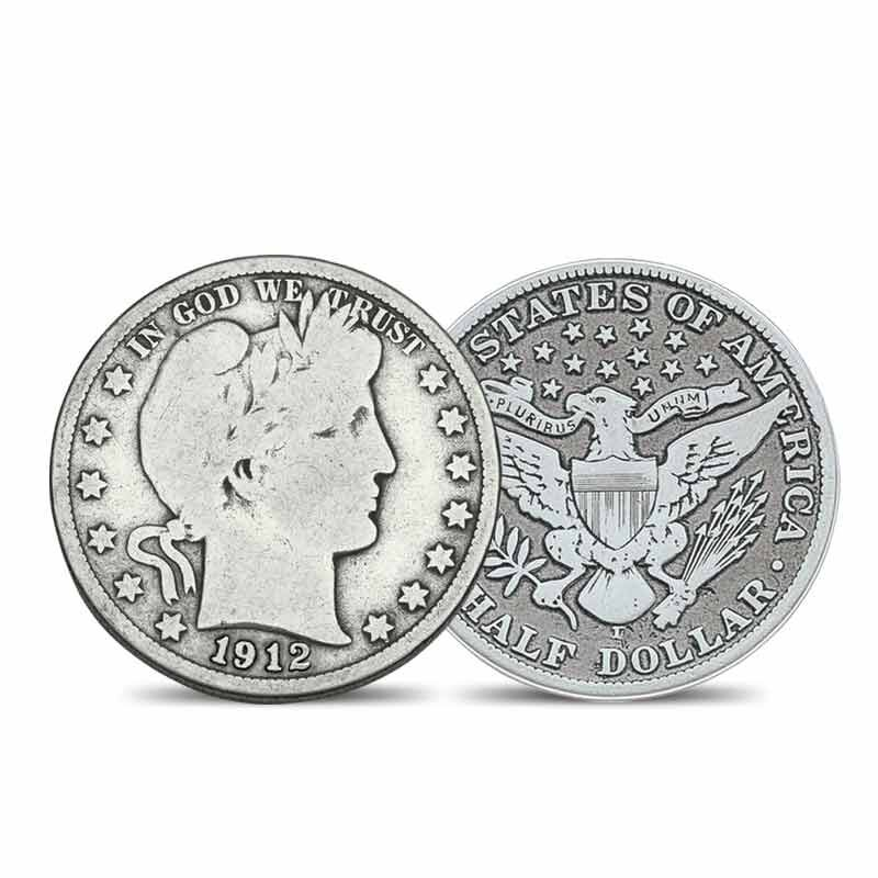 The Complete Barber Silver Half Dollar Collection 4170 002 2 1