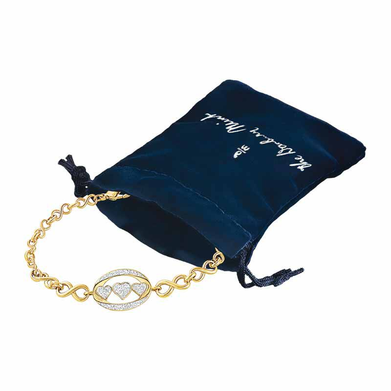 My Daughter I Love You Diamond Bracelet 5445 001 0 3