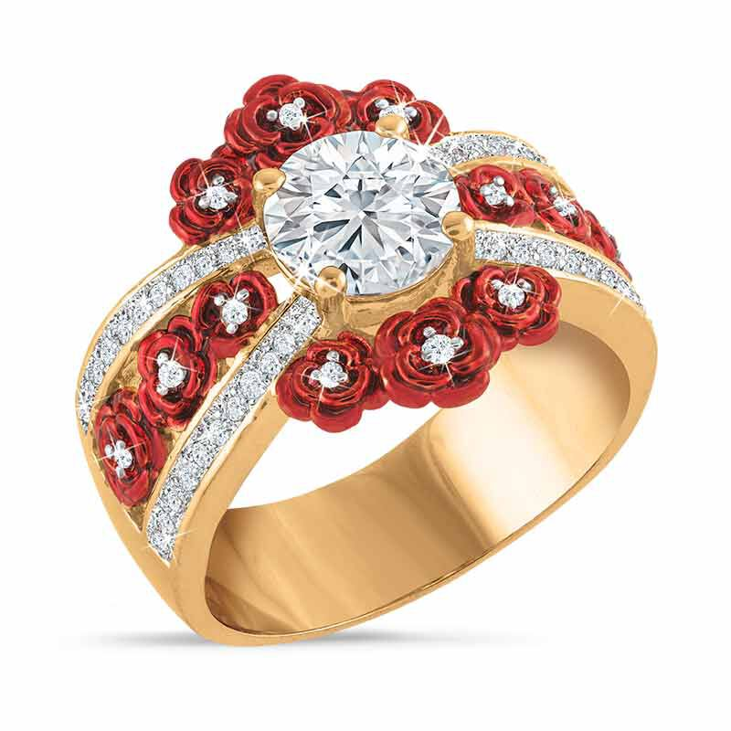 A Bouquet of Roses Diamond Ring 6272 001 6 1