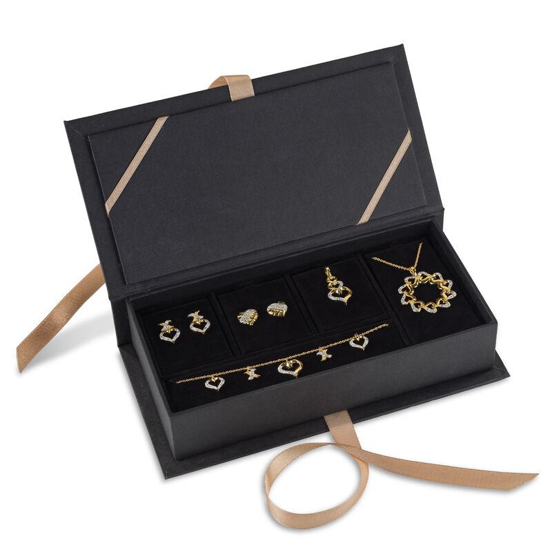 Treasures of Heart Golden Jewelry Set 10338 0010 a main