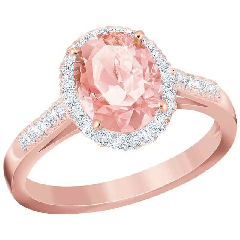 Rose Radiance Diamonisse Ring   Rose Gold 5860 001 6 1